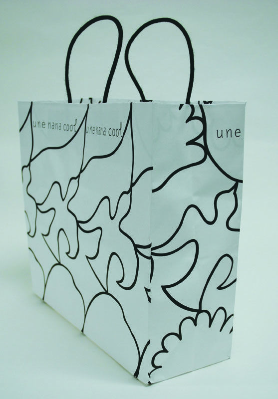 Paper Bag Design Print Graphic Fashion