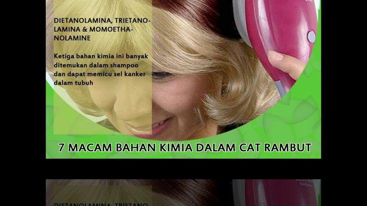 7 Bahan Berbahaya Dalam Cat Rambut