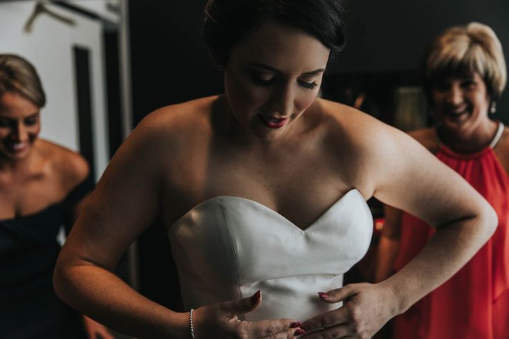 We love the getting ready shots. Kat, Fortitude Valley Wedding