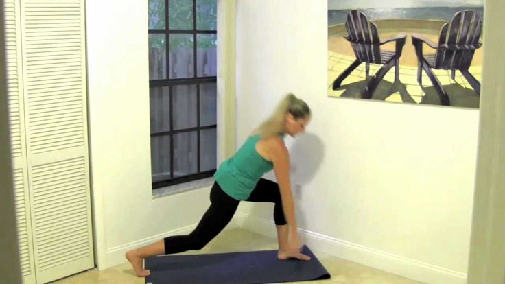 Quick Stretch Jessica Smith: very easy and quick (15 minutes), maybe too easy, but I loved the wall hand/forearm stretch, good for my wrists sore from typing!
