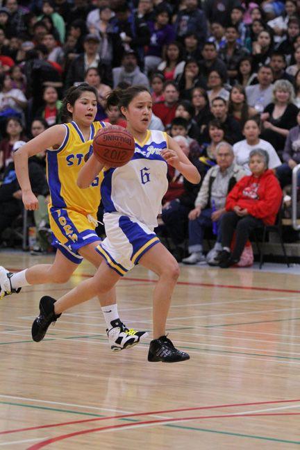 All Native basketball girls finals