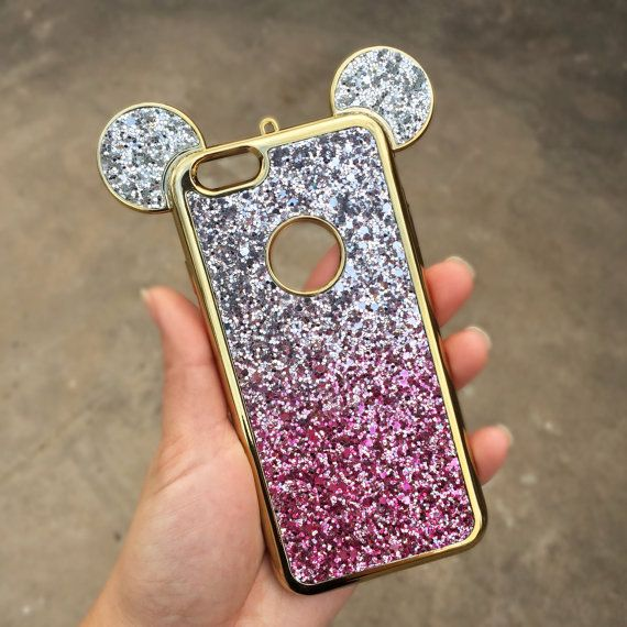 Disney phone case Disney iPhone 6/6s case Mouse by bellaglamshop