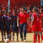 Photos: Salman Khan Plays A Match Of Football
