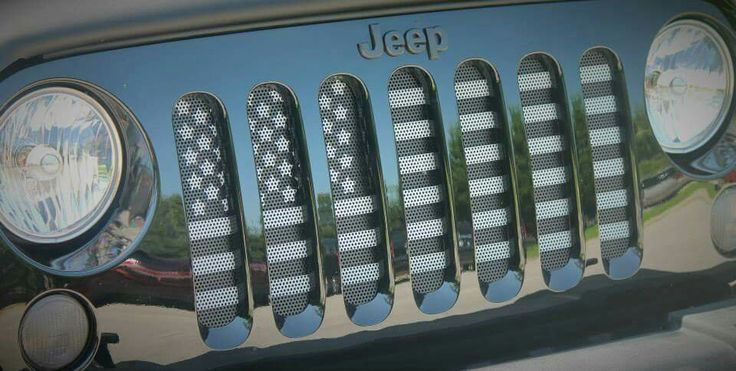 Flag Grill Insert by Dirty Acres on FB