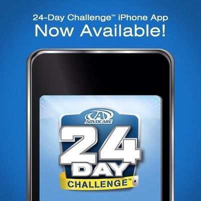 The 24 Day Challenge App Review