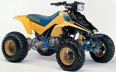1987-1992 SUZUKI LT250R QUADRACER ATV REPAIR MANUAL