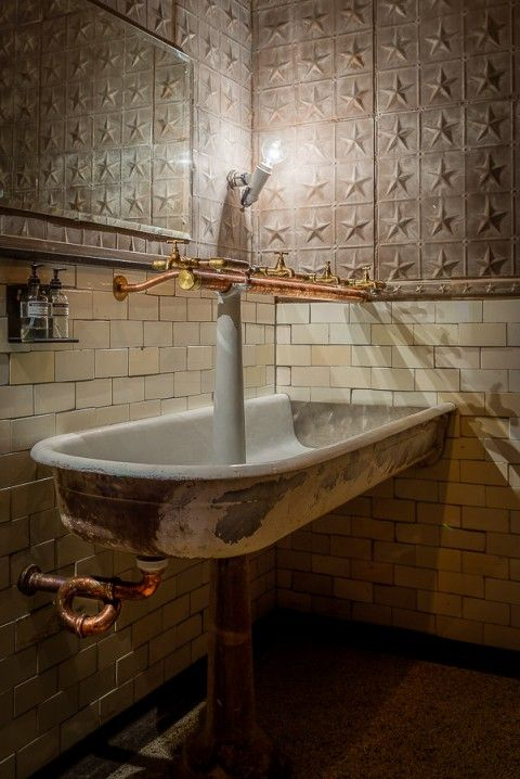 17 Best Images About Tin Bathrooms On Pinterest Uses