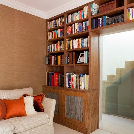Modern Home Library Design Ideas: 17 Best Ideas About Small Home Libraries On Pinterest