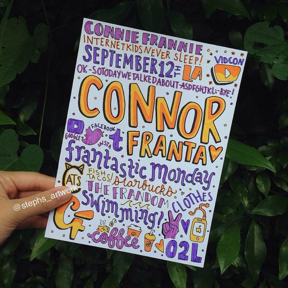Connor Franta Collage. This is amazing...who made this?? Props to making something absolutely amazing.