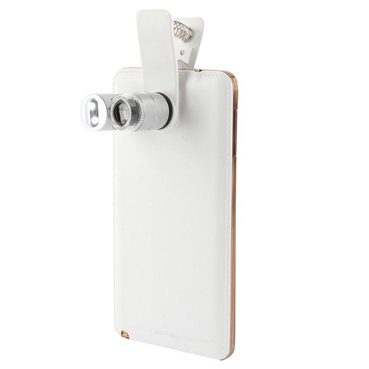 60x المجهر مع الصمام الاضواء تعديل جميع الهواتف العامة المكبرة لفترات محدودة