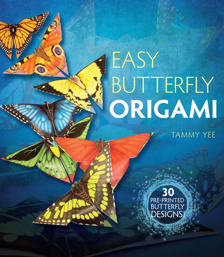 Easy Butterfly Origami Dover Papercraft By Tamm
