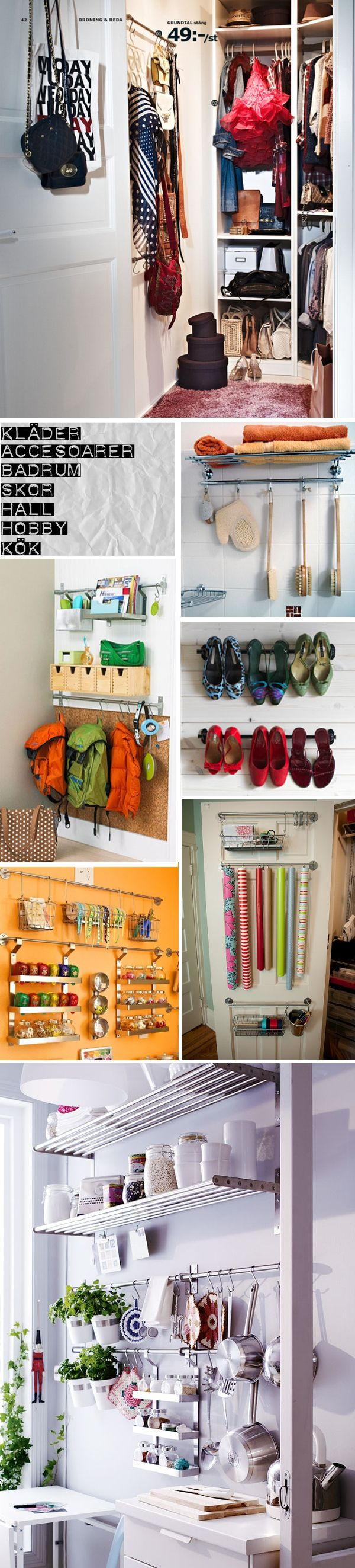 Organize everything from shoes to kitchen utensils!