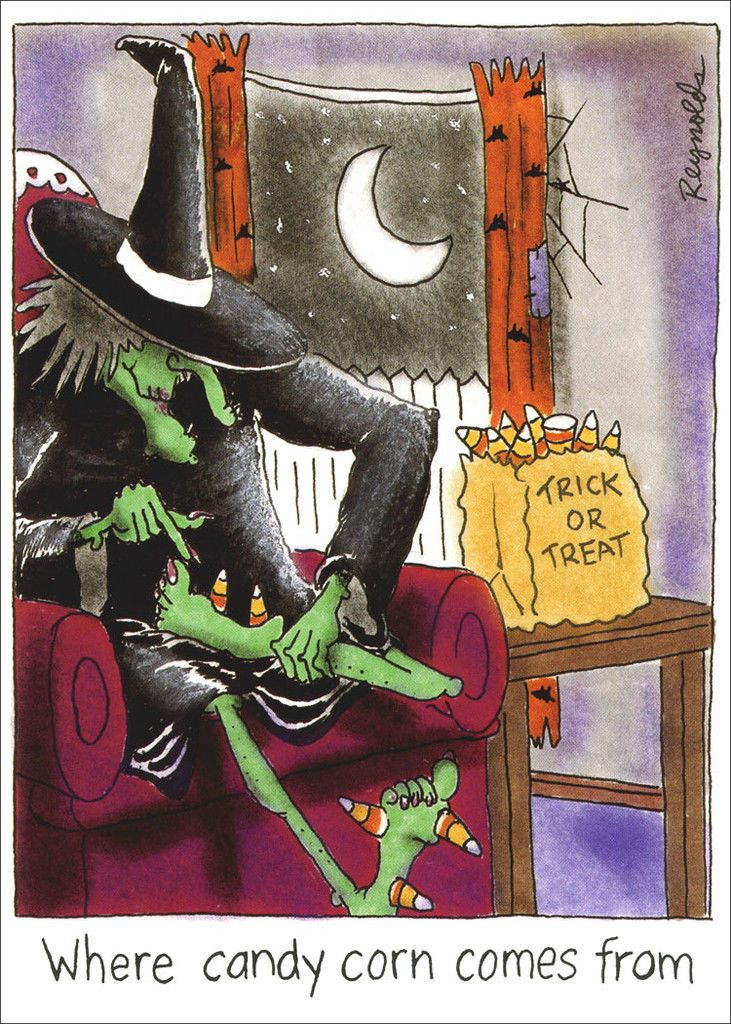 Pick My Feet Funny Halloween Card Greeting Card by Recycled Paper Greetings | eBay