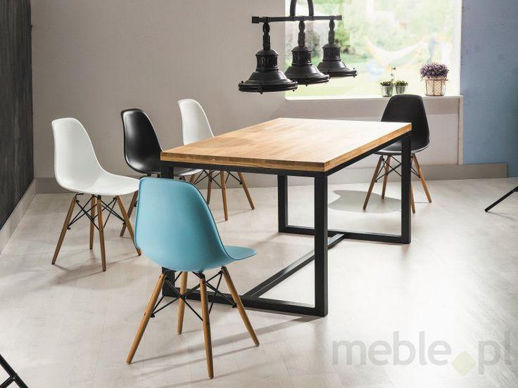 Dębowy stół LORAS, Signal - Meble