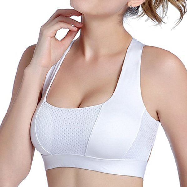 333dcf2717 Breathable Sports Criss-cross Back Soft Bandage Fitness Yoga Sleeping Bras