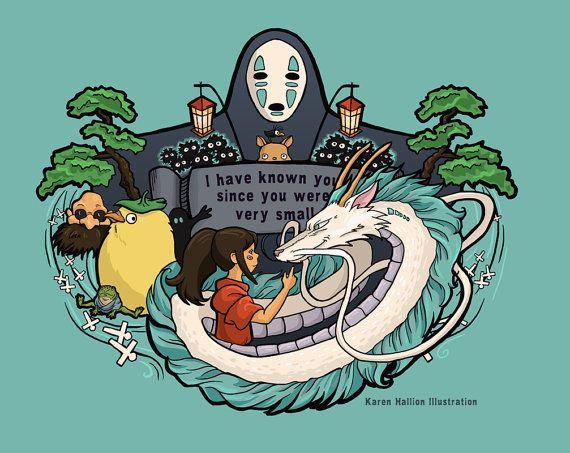 Spirit World  Print by khallion on Etsy, $20.00