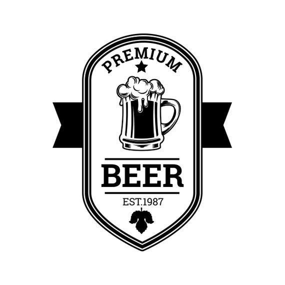 Beer Logo 65 Barrel Pub Bar Tavern Brew Brewery Barley Etsy In 2021 Beer Logo Beer Logos