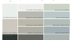 15 of the Most Versatile and Dependable Paint Colors {All Star List}