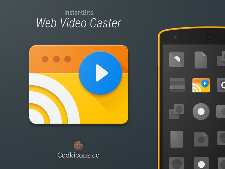 Web Video Caster Product Icon