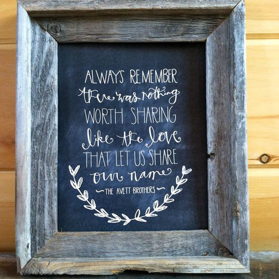 can't decide whether to pin this lyric on the wedding board or baby board so one will go on each.
