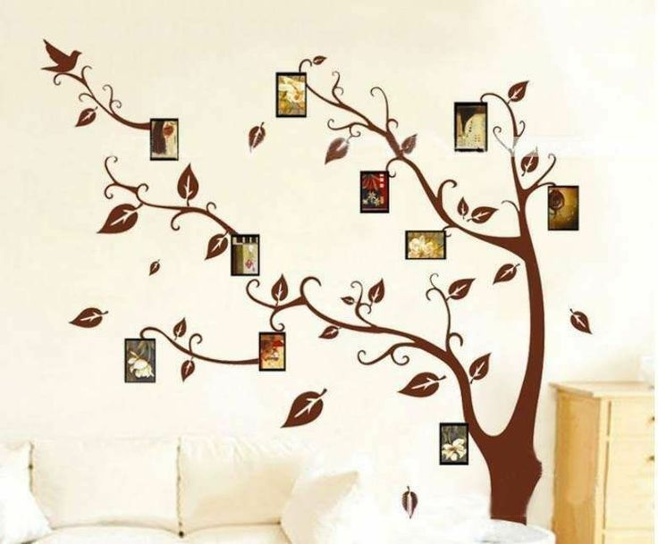 Photo Frame Family Tree Decal Wall Decals Wall Decor: 17 Best Images About Tree Wall Decals On Pinterest