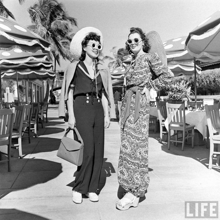 summer clothes from the 1940s miami photographer