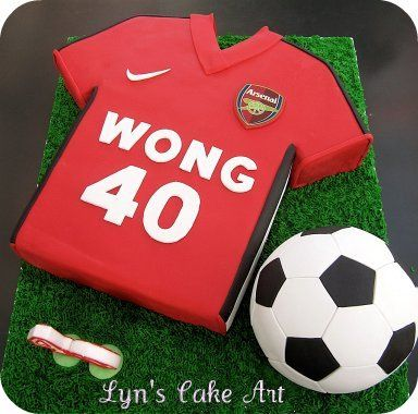 Julian's - Soccer Cake... add his name and can have two different flavors!
