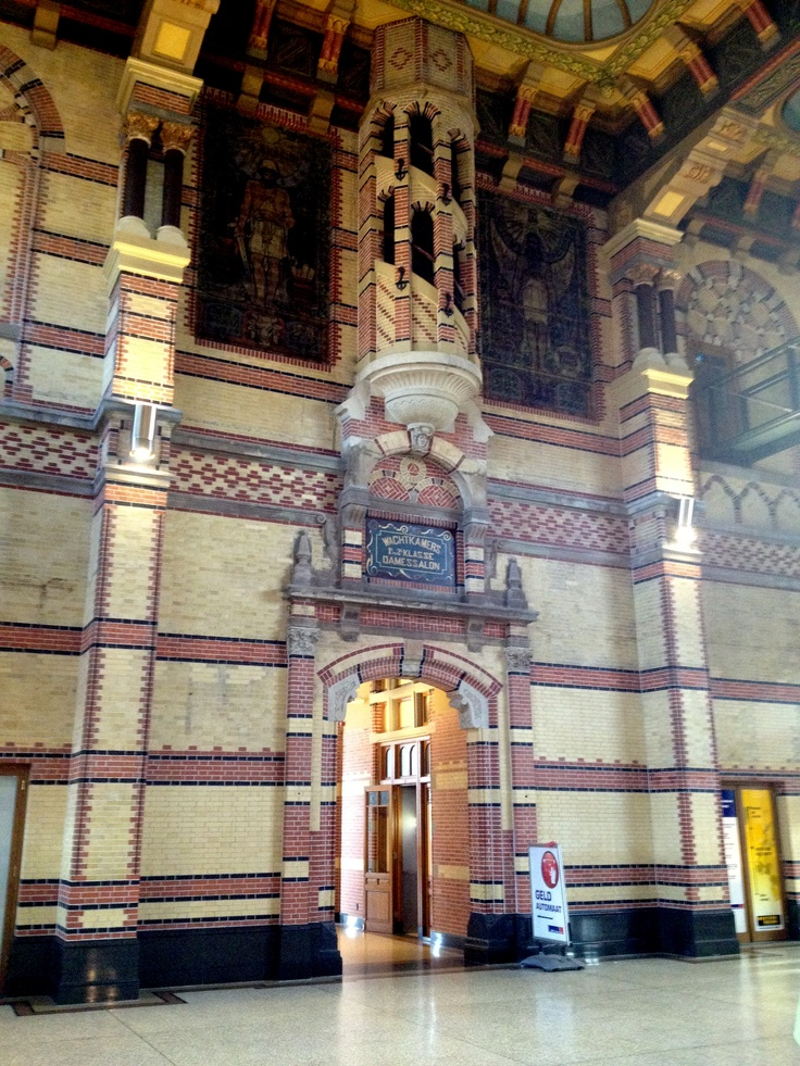 More detail from Groningen station's gothic fantasy