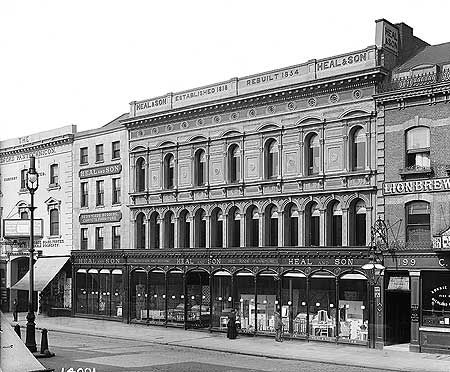 Heal And Son Limited, 193-199 Tottenham Court Road, Holborn, 19 Mar 1897