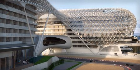 The Yas Hotel by Asymptote