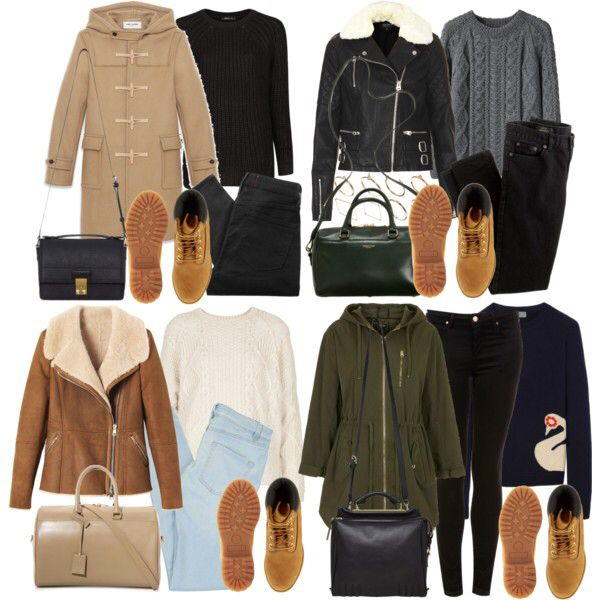 Timberland boot outfit