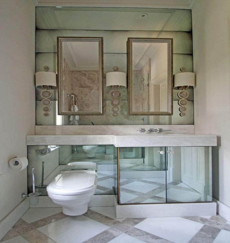 Bathrooms | Mirrorworks, the antique mirror glass company