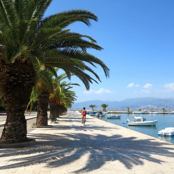 The port promenade