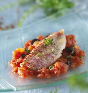 Dorade Provençale: recette Dorade Provençale, aftouch-cuisine
