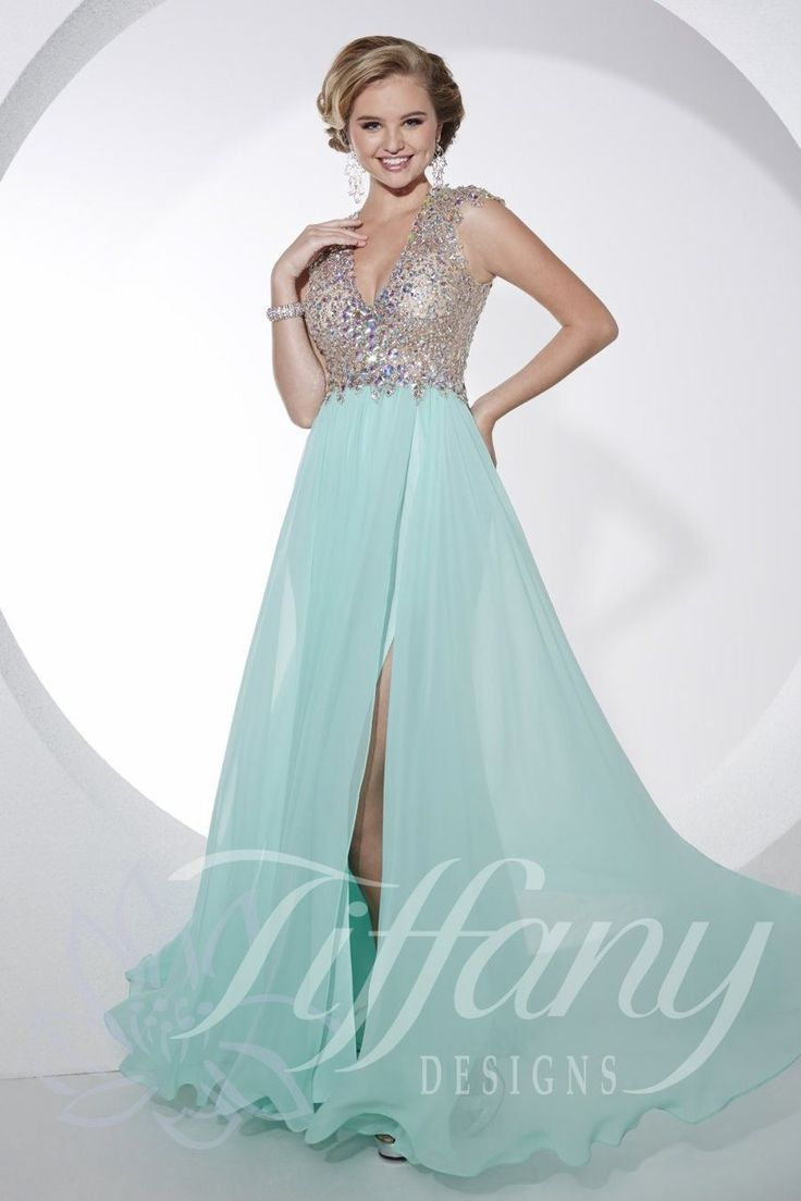 Tiffany designs prom dress 16747 - Dressed for less