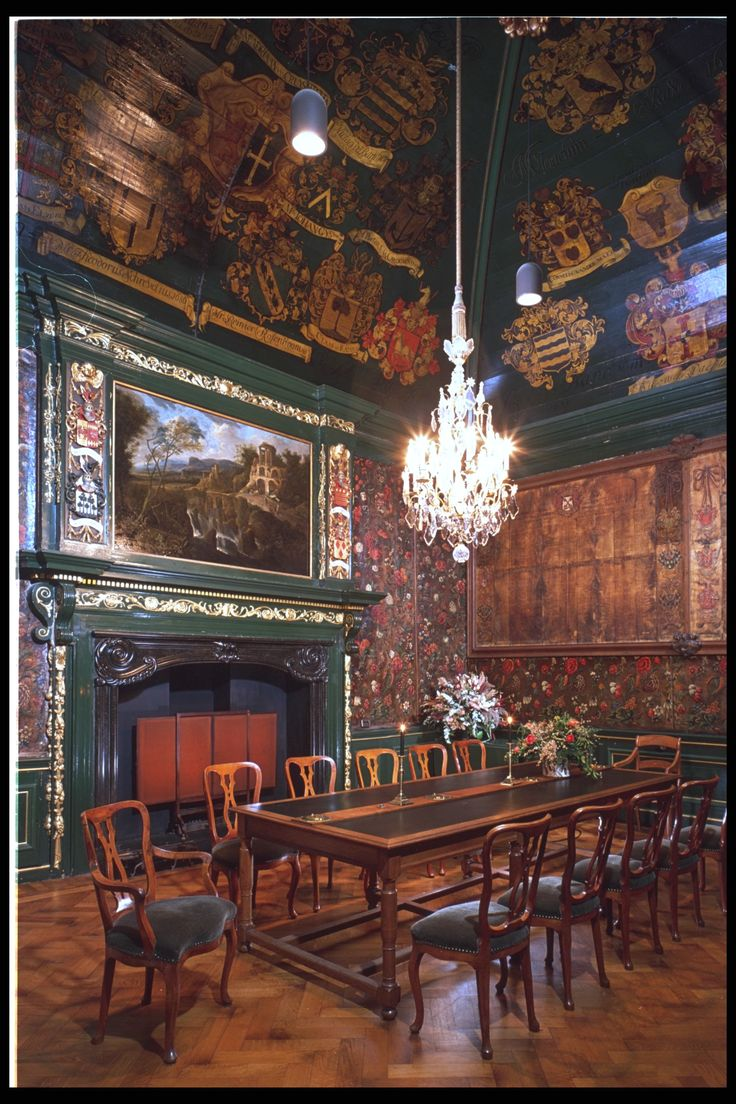 Pieterskerk, in Leiden; Church Trustees room