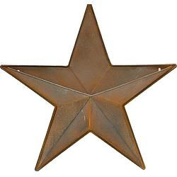 "Antique Brown Star Pocket 16"" - $34.99"