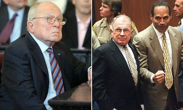 OJ Simpson's attorney F lee Bailey files for bankruptcy | Daily Mail Online