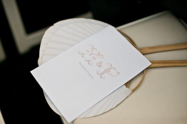 Neat initals!384813, Wedding Programs, Wedding Photography, Gallery, Fans, Mi Belle, Belle Wedding, Paper Inspiration, Photos Shared