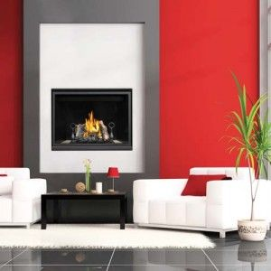 the napoleon high definition 40 gas fireplace has a simple yet design and provides a relaxing warm environment for any home - Napoleon Fireplaces