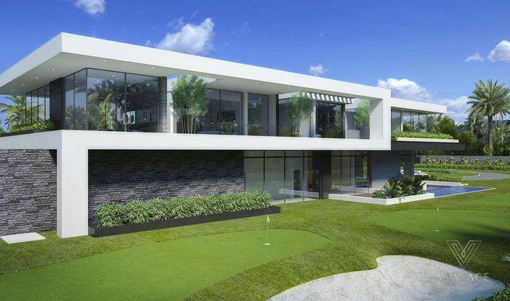 Conceitos de arquitetura excepcionais do Vantage Design Group   – Luxus Häuser / Penthouse