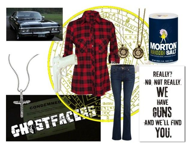"""""""The Winchester Sisters 1"""" by gwen-singer-winchester ❤ liked on Polyvore featuring J Brand, SAM, ZENTS and David Yurman"""