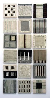 Clare Crouchman - ceramic wall panel