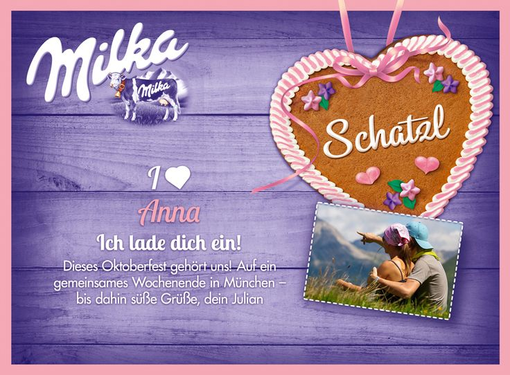 Milka Pralines Shop - Home Page