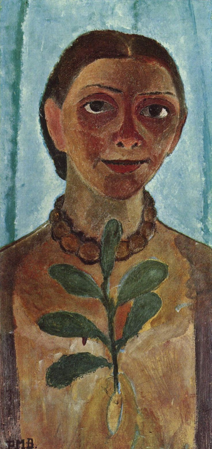 The Athenaeum - Self-Portrait (Paula Modersohn-Becker - )