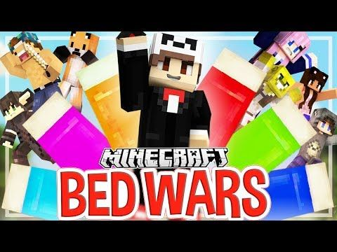 Battle of the YouTubers! | Minecraft Bed Wars - YouTube