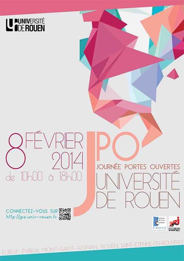 Flyer JPO 2014 - université de Rouen