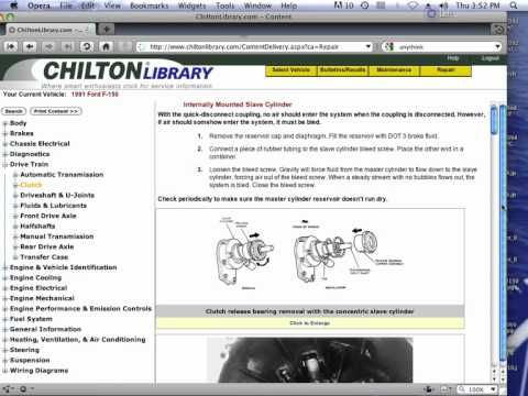 Free Chilton Manuals Online