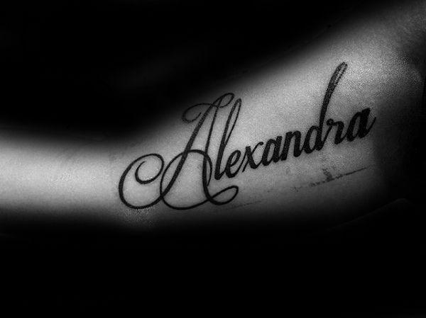Татуировка с именем саша картинки