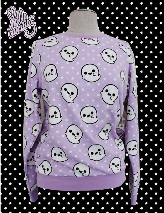 Hello Cavities Ghosty Sweatshirt by hellocavities on Etsy